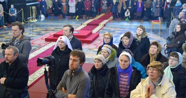 Миссионерская литургия совершена в Санкт-Петербургском соборе Воскресения Христова