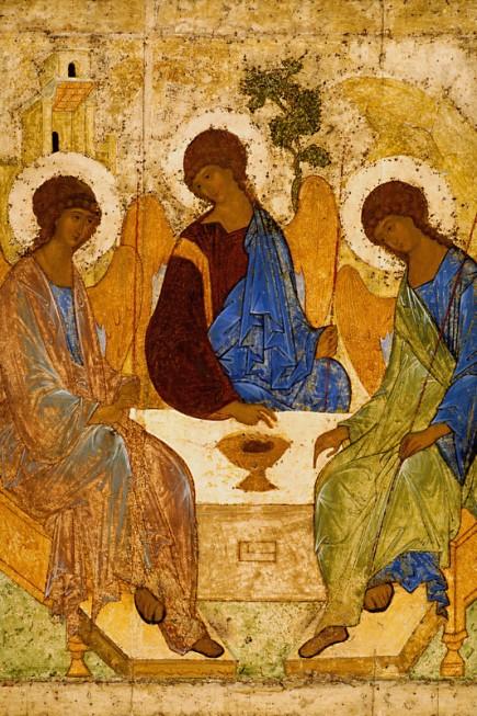 Рис. 5. Икона Троица