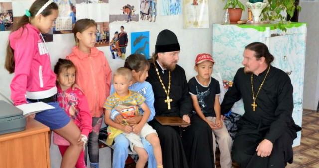 Миссионерский визит на север Сахалина