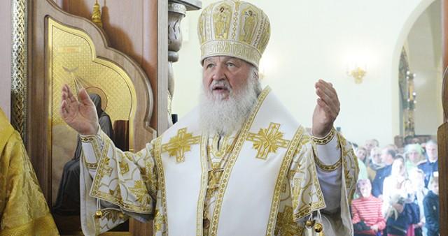 В Неделю пред Воздвижением Святейший Патриарх Кирилл совершил Литургию с сурдопереводом