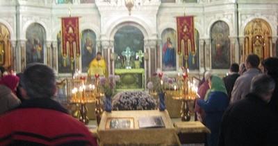 В храме Архистратига Михаила совершена миссионерская литургия с комментариями