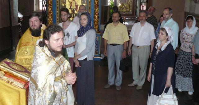 Молебен о миссии и миссионерах на Крутицком Патриаршем подворье