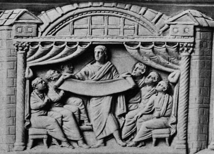 Рис. 16. Христос в образе философа