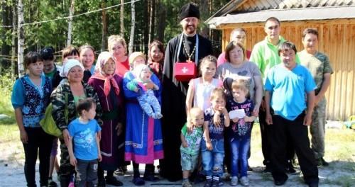 Миссионерский полет к коренным народам Севера Нефтеюганского района