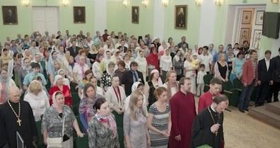 В Санкт-Петербурге прошел выпуск епархиальных курсов религиозного образования и катехизации им. св. прав. Иоанна Кронштадтского