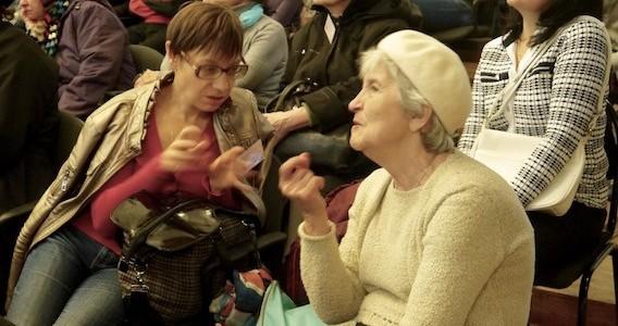 В Москве прошла пресс-конференция, посвященная служению Церкви в сфере помощи людям с нарушениями слуха и зрения