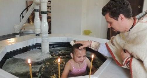 Крещальная Литургия как вхождение человека в Церковь