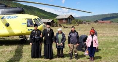 Началась миссионерская поездка в труднодоступные районы Братской епархии
