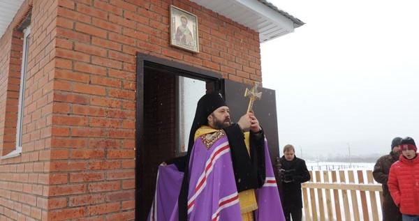 В селе Матур освящена часовня на месте погребения выдающегося миссионера священника Иоанна Штыгашева