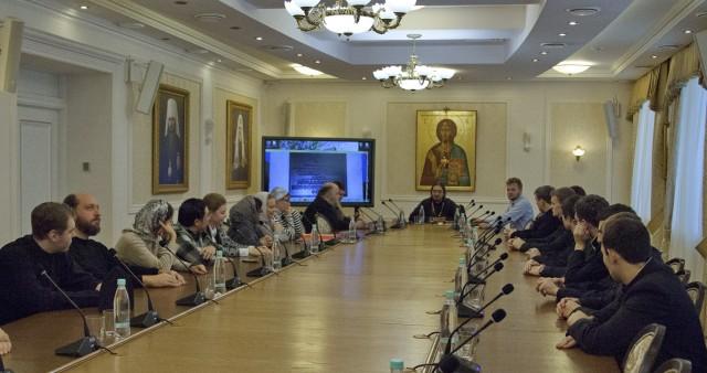 Нижегородскую семинарию посетила делегация Китайского Патриаршего Подворья