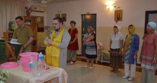 Образовательный православный лекторий в Индии
