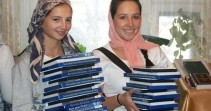 Миссионерская поездка православной молодежи в п. Хани