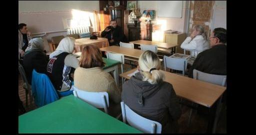 В Славянске начала работать воскресная школа для взрослых