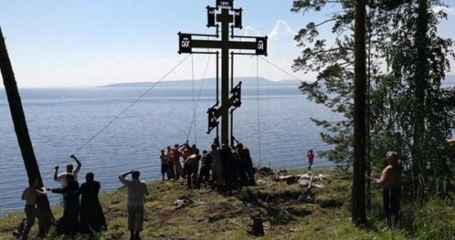 Память епископа-миссионера почтили на Монастырской горе у Братского водохранилища