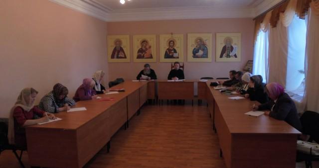 Аттестация приходских катехизаторов в Выксунской епархии