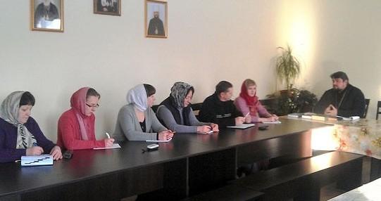 В Бориспольской епархии начали работу катехизаторские курсы для мирян