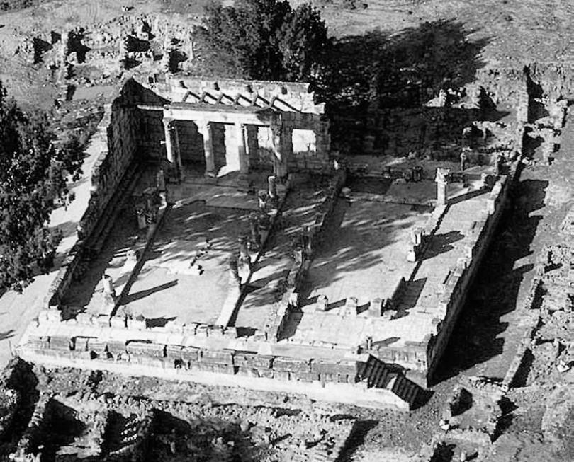Рис. 3. Капернаумская синагога