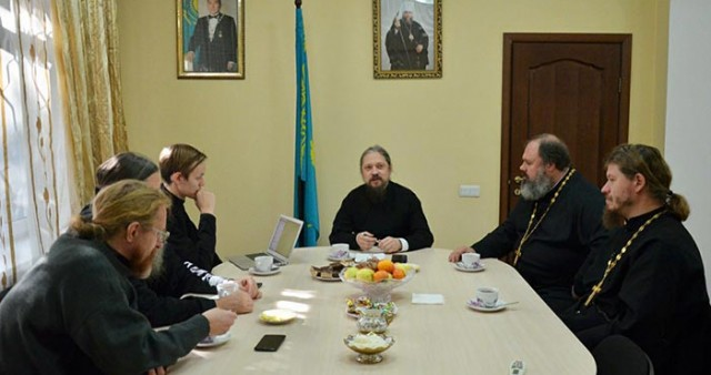 Епископ Геннадий провел совещание по вопросам духовно-просветительского и миссионерского служения в Алма-Атинской епархии