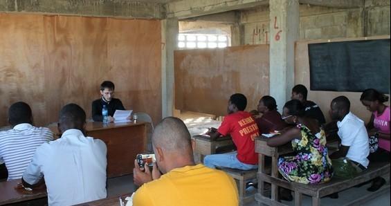 Аспирант СПбДА посетил православную миссию в Гаити