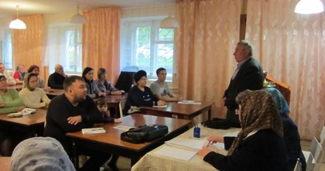 Начало учебного года на миссионерско-катехизаторских курсах в Нижнем Тагиле