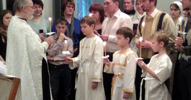 Воцерковление на Рождество Христово