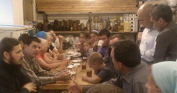 """Участники миссионерской экспедиции проекта """"Книгоноша"""" посетили Дом молитвы евангельских христиан-баптистов"""