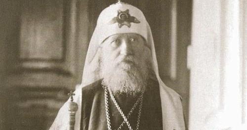 Забытая миссия патриарха Тихона