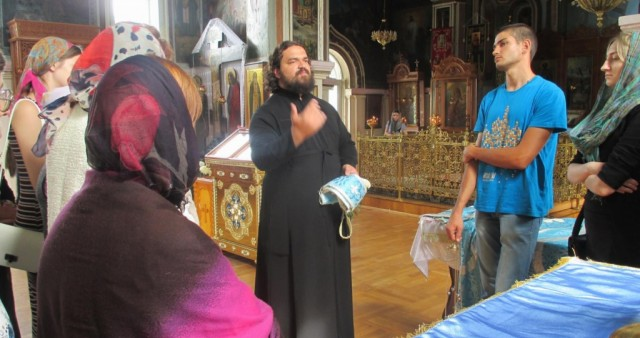 Беседа о литургии после литургии