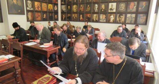 Состоялось первое в 2015 году заседание комиссии Межсоборного присутствия по вопросам организации церковной миссии