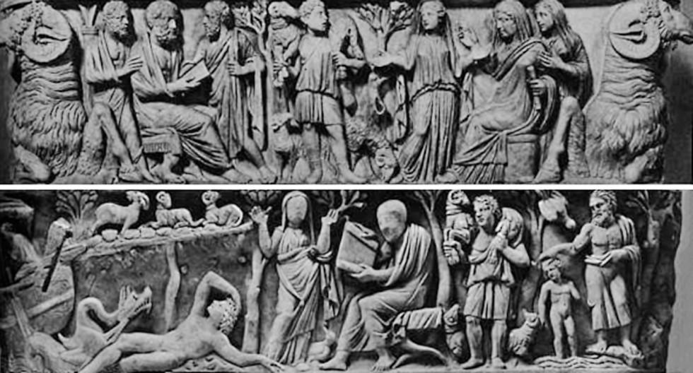Рис. 18. Христианство как истинная философия, открывающая путь в жизнь вечную