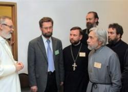"""В кулуарах конференции """"Традиция святоотеческой катехизации: проблемы и критерии качества оглашения современных современных 'слушающих''"""