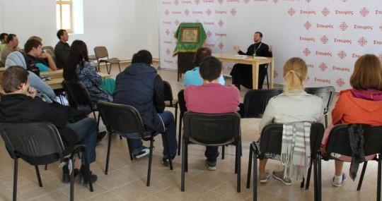 Молодежный съезд состоялся в Череменецком монастыре