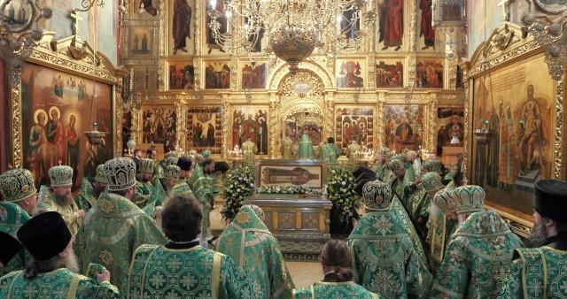 В Троице-Сергиевой лавре состоялись торжества случаю 220-летия со дня рождения святителя Иннокентия (Вениаминова) и 40-летия его канонизации