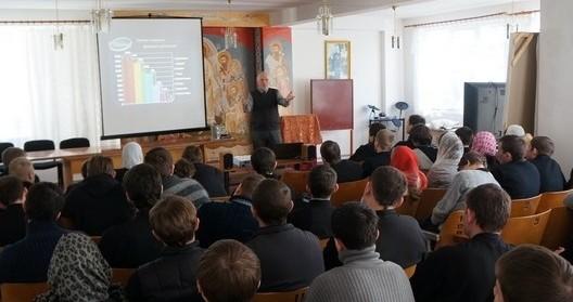 Православный миссионер из США Олег Воскресенский провел методико-апологетический семинар «Открытие» для студентов ПМДС