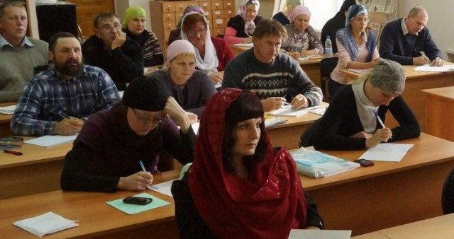 Четвертый набор школы катехизаторов Барнаульской епархии