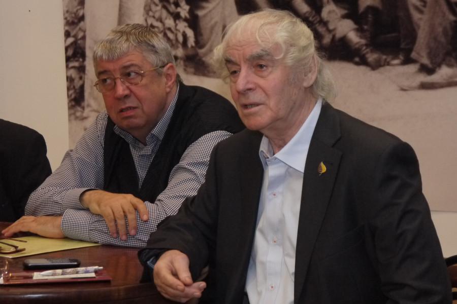 Ю.М. Прозоров и Г.Н. Фурсей