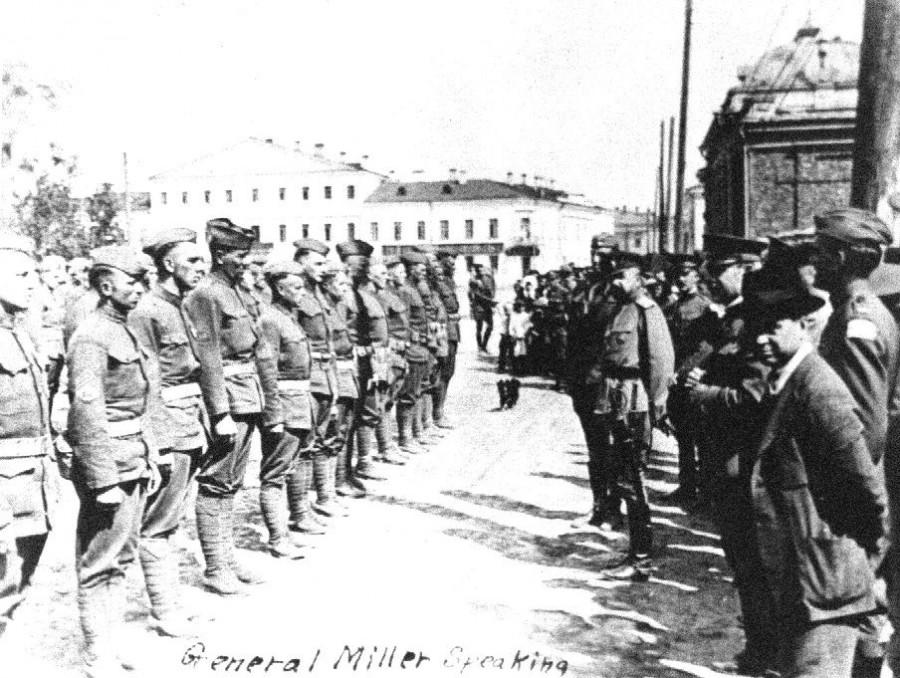 Генерал Миллер в Архангельске. Июнь 1919 года
