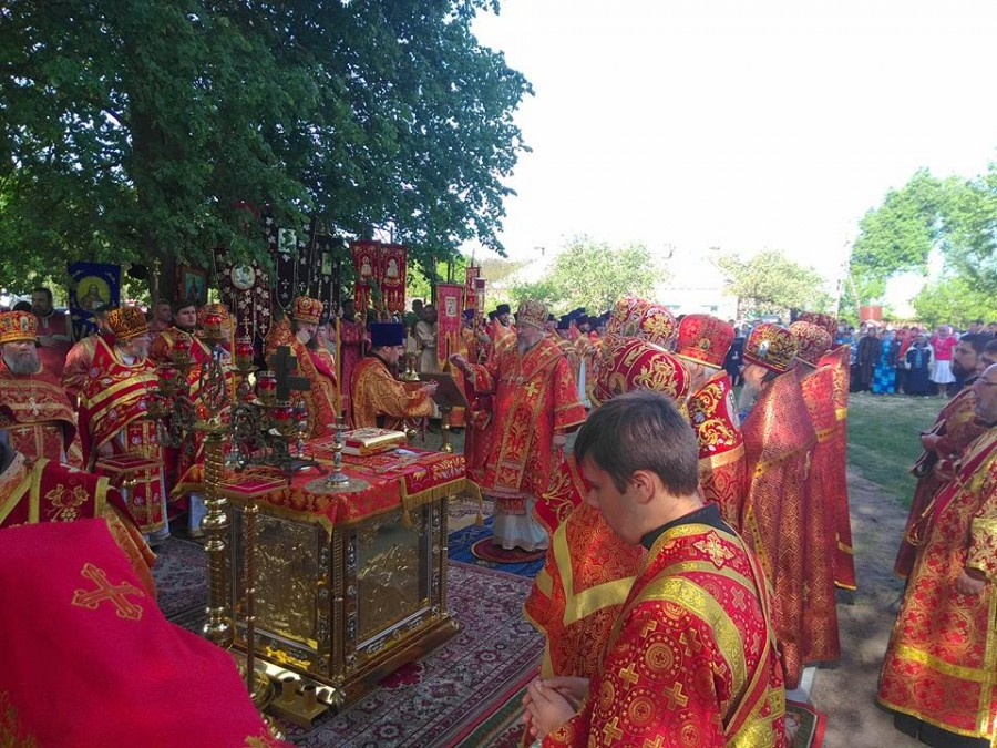 Крестный ход в Гомельской епархии