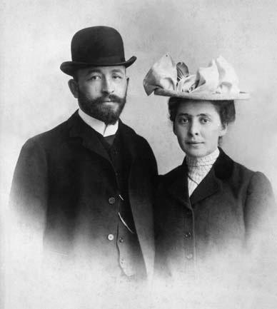 А.Д. Самарин с невестой в Риме, где в тот год находилась семья Саввы Ивановича Мамонтова, 1902 г.