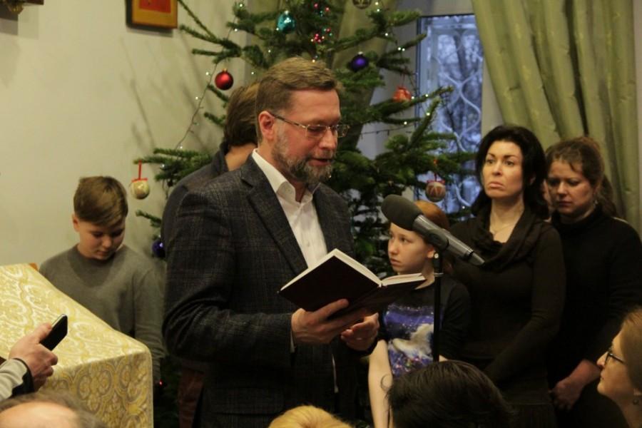 Дмитрий Гасак, председатель Преображенскогои братства и первый проректор СФИ