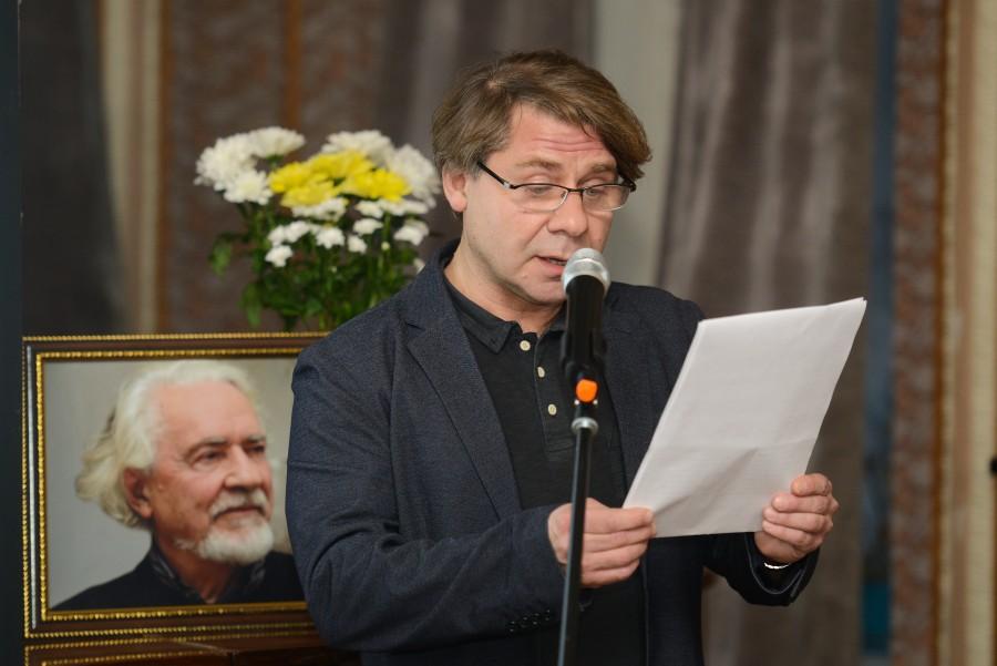 Сергей Шенталинский, актер, режиссер, профессор Высшей школы сценических искусств Константина Райкина