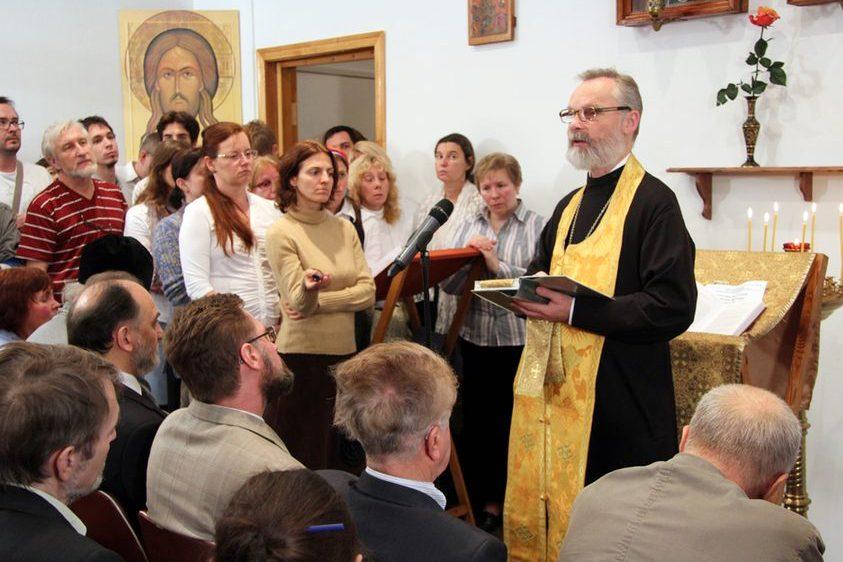 Fr Georgy Kochetkov, Rector of Saint Philaret's Orthodox Christian Institute, preaching on the Gospel