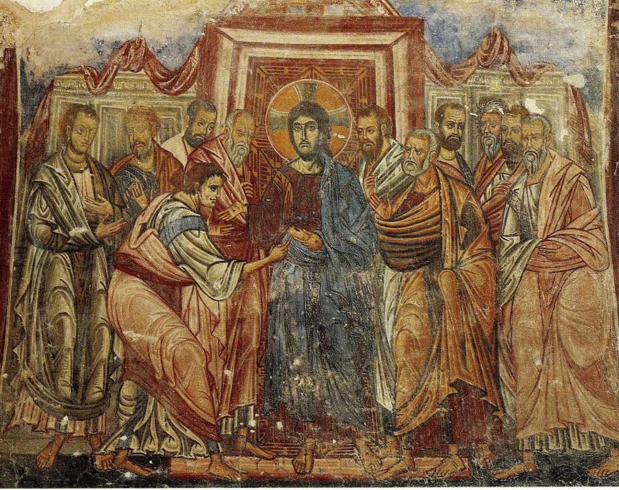 Уверение Фомы. XIII в., Греция.