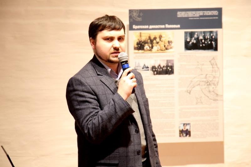Василий Трофименко, заместитель директора Государственного архива Архангельской области