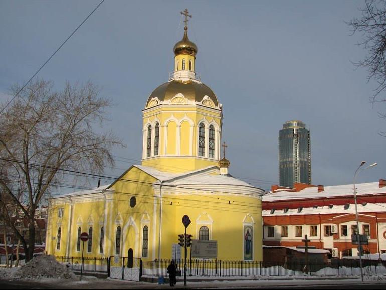 Крестовоздвиженская церковь Крестовоздвиженского монастыря