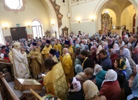 Епископ Пантелеимон встретился с членами единственной в России православной общины людей...
