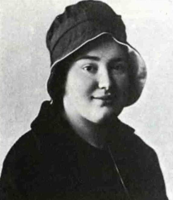 Елизавета Юрьевна Кузьмина-Караваева, 1914 г. С сайта www.mere-marie.com