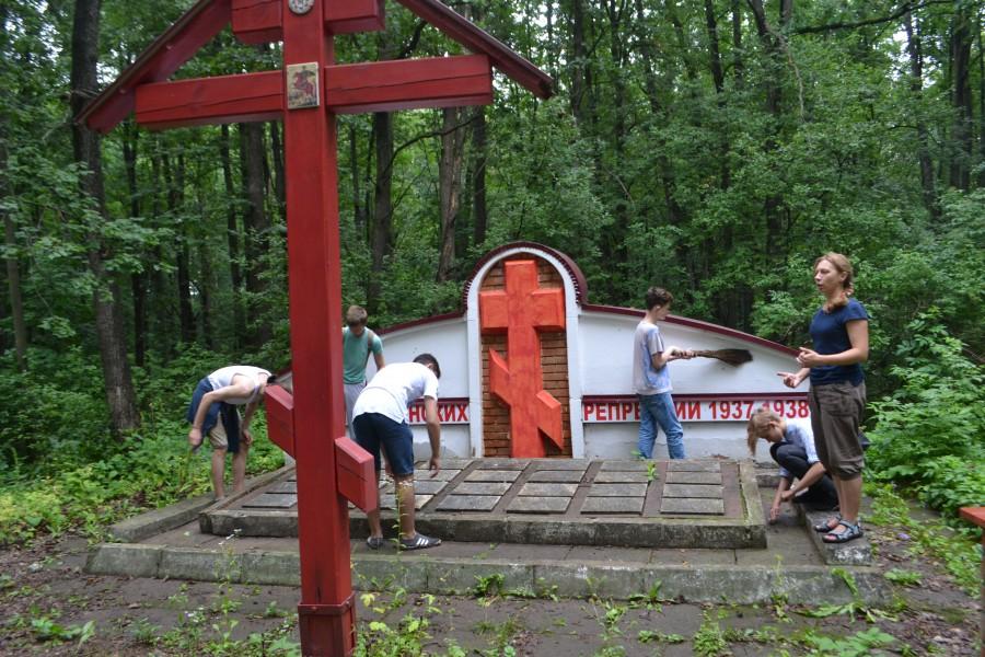 «Липовчик» – мемориал жертв политических репрессий, Орловская область, Ливенский район