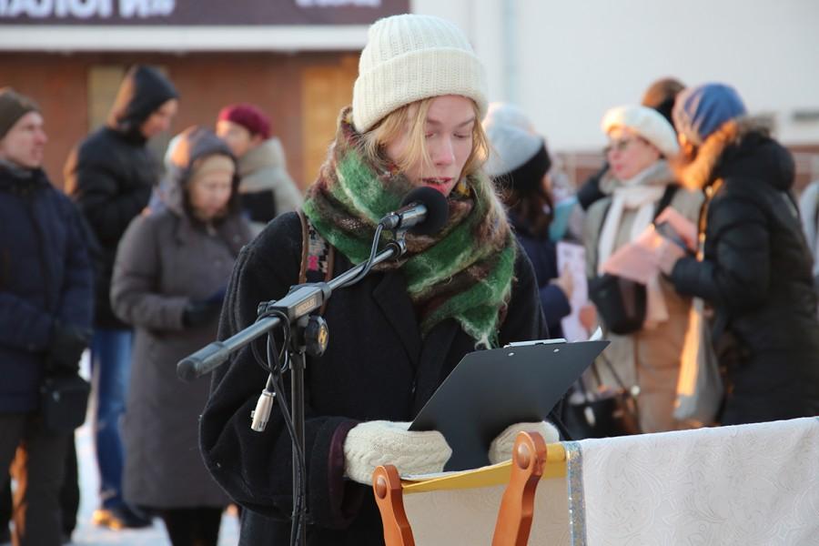 «Молитва памяти», Архангельск. Фото: Андрей Подоров