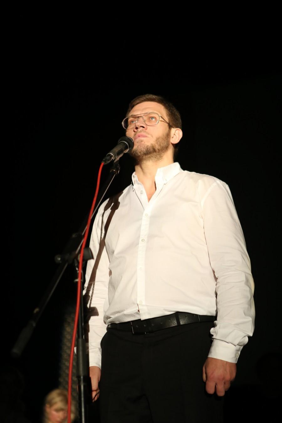 Чтец Сергей Чусов